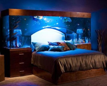 аквариум для спальни
