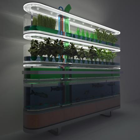биоферма из аквариума